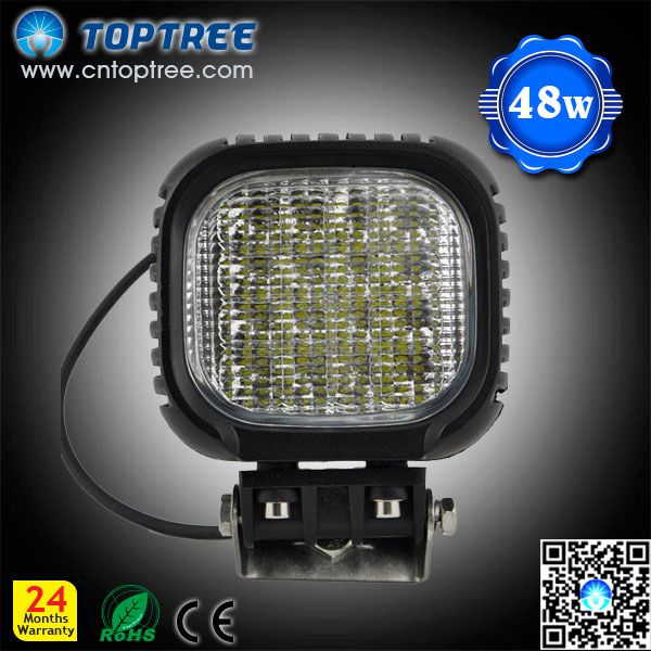 48w Square Heavy Duty Working Lamp Agriculturial Led Work