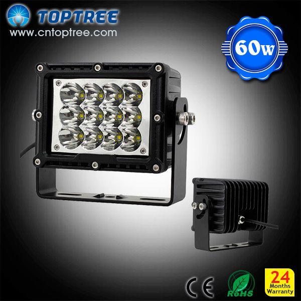 60w Led Truck Mining Light Offroad Led Fog Lamp 5x12 Led
