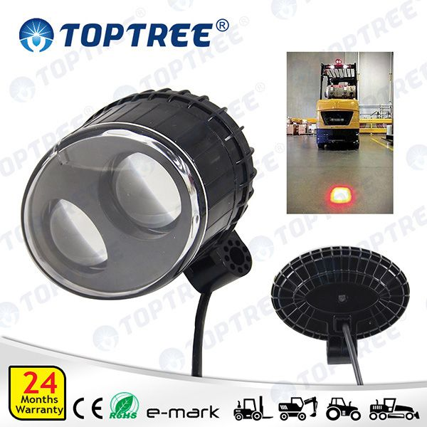 Red Spot Forklift Light 110v Forklift Headlamp Led Warning Spot Safety Light