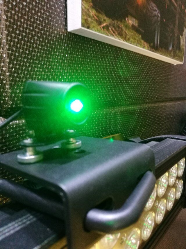 Forklift Safety Warning Red Green Zone Line Laser Light 9