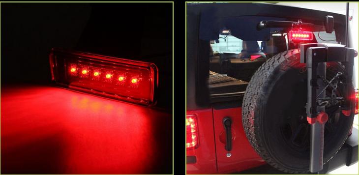 jeep light wrangler sahara rubicon unlimited jk 2007 tail rear lights brake lamp warning cntoptree
