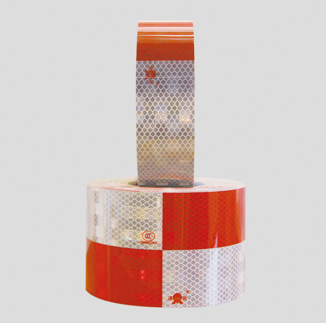 Toptree Reflective Safety Tape Red Hazard Caution Adhesive