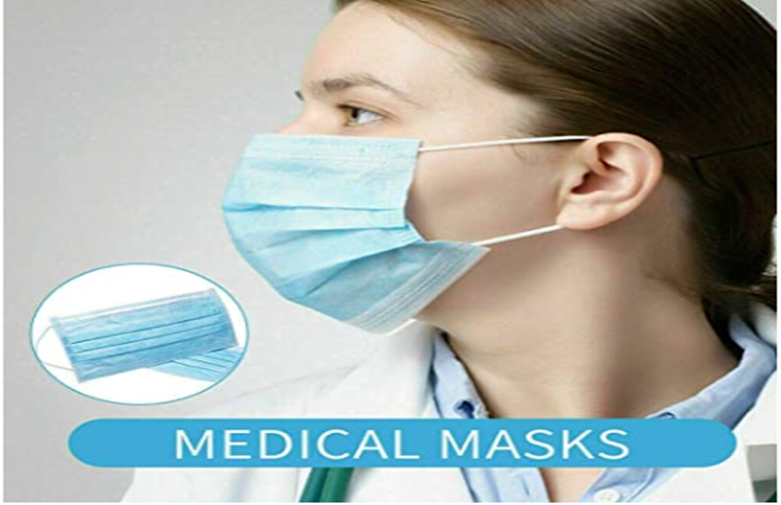 FDA CE Medical Mask Disposable Surgical Face Mask
