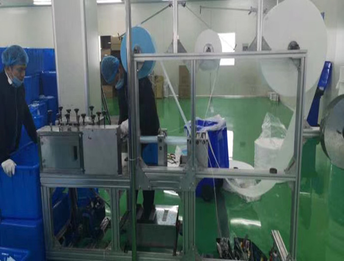 High Speed Automatic Medical Face Mask Making Machine